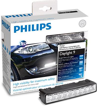 Ходовые огни топового класса Philips LED Day Light DayLight9 6000K