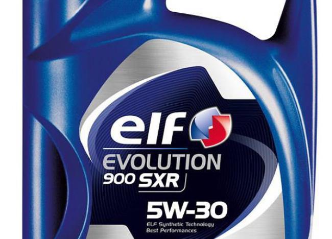 Этикетка ELF Evolution SXR