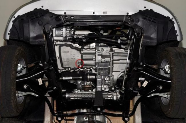 Картер двигателя K4M, Ларгус
