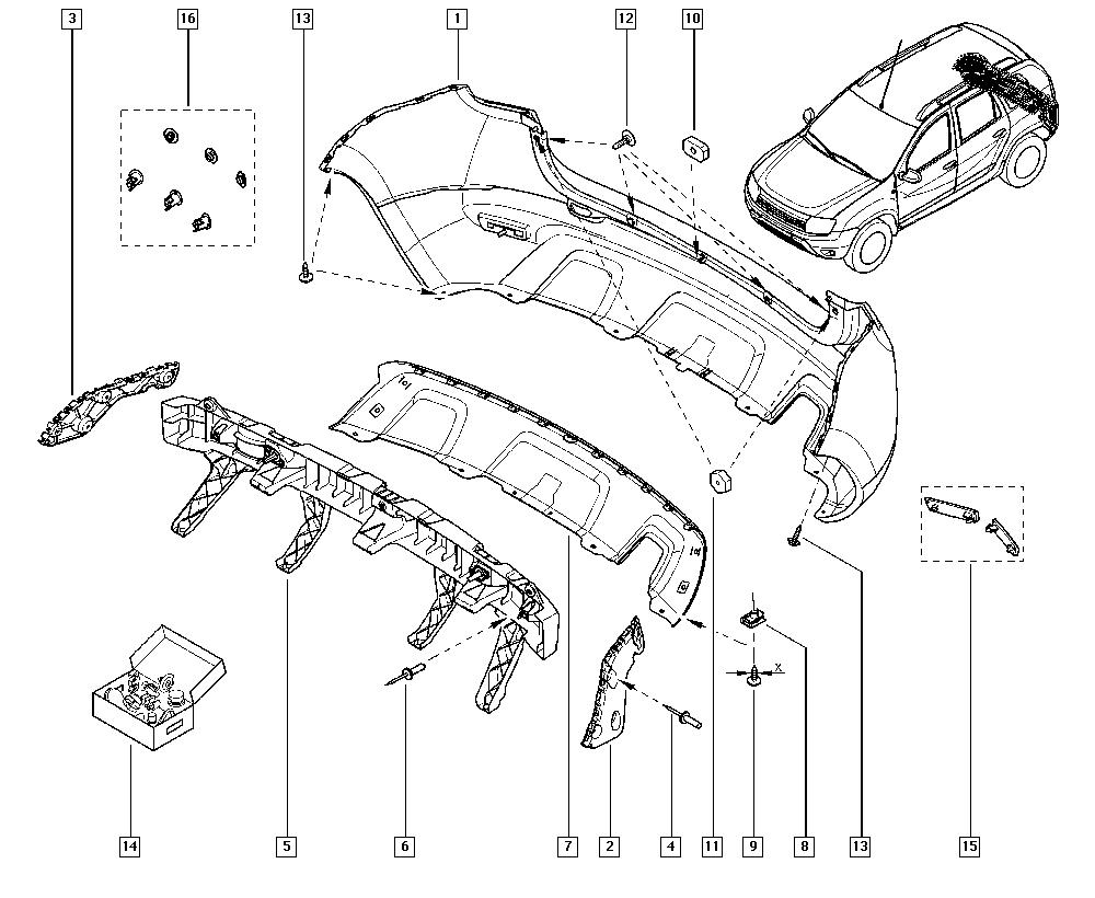 принципиальная электрическая схема рено дастер