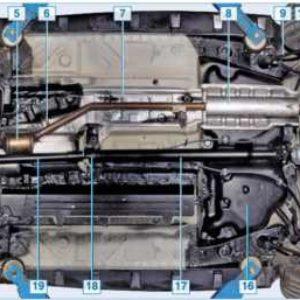 Топливный бак Дастера 4WD