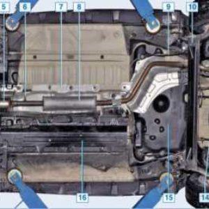 Топливный бак Дастера 2WD