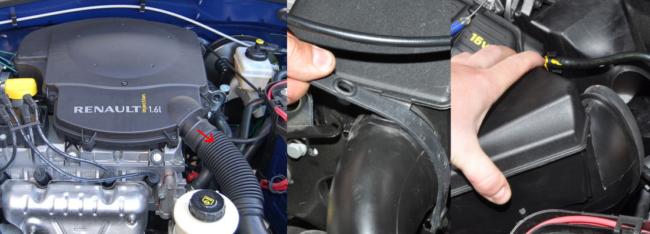 Мотор Логан 8, 16 клапанов