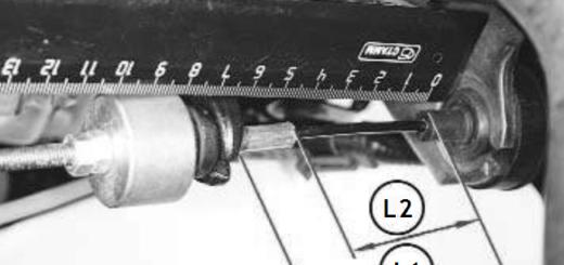 Регулировка троса сцепления Логан