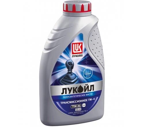 Масло КПП Лада Гранта Лукойл полусинтетика