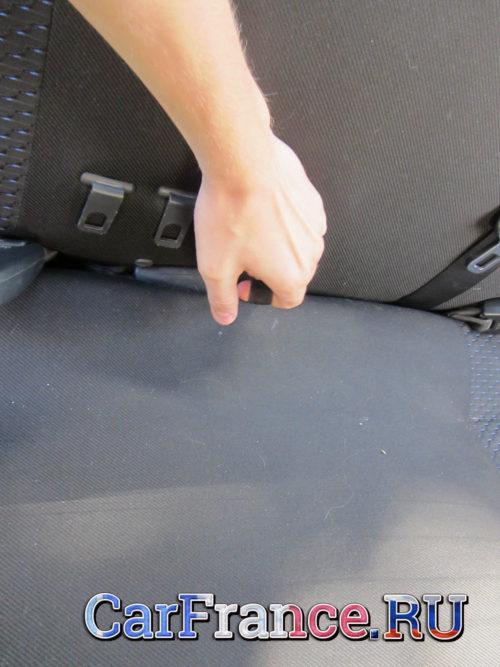 Петля подъёма сидения заднего дивана Лада Гранта