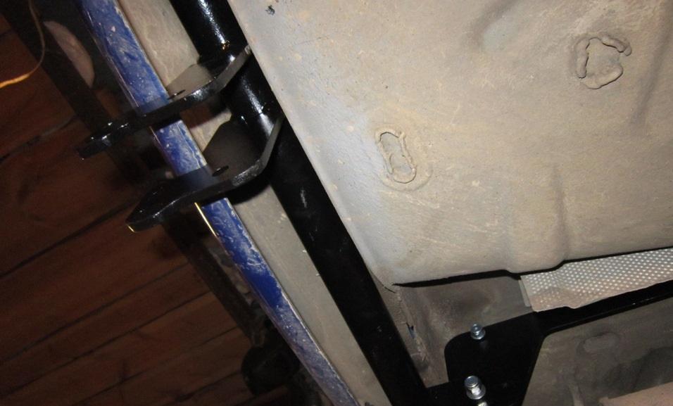 Установка фаркопа на логан своими руками фото
