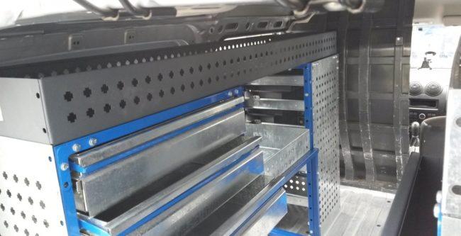 Мебель для фургона Ларгус