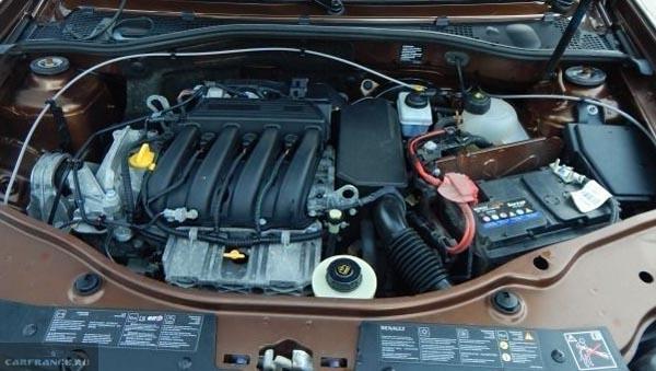 1.6 двигатель Рено Дастер 114 лошадиных сил