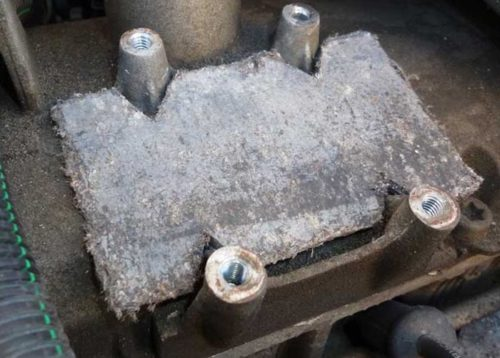 Увеличение подъёма по высоте установки катушки зажигания на Рено Логан