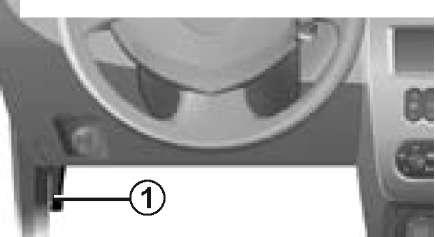 Ручка открытия капота на Рено Дастер в инструкции
