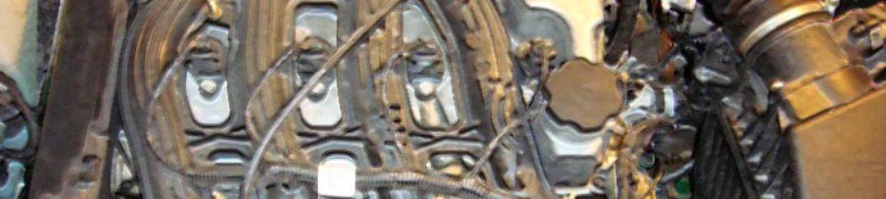 16-ти клапанный двигатель Лада Калина без декоративной крышки