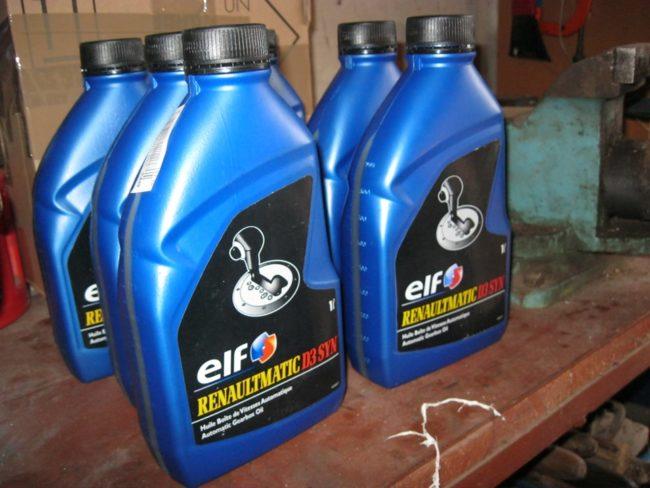 6 упаковок масла в АКПП Рено Меган 2