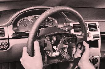 Демонтаж рулевого колеса Лада Гранта