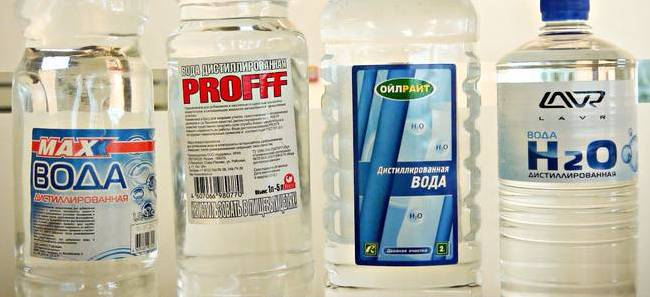 Дистиллят, вода, упаковка 1 л