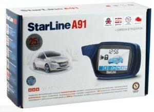 Сигнализация starline a91 установка своими руками