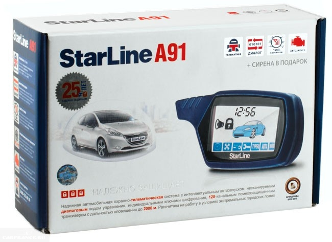 starline a91 ford fusion сервисная кнопка