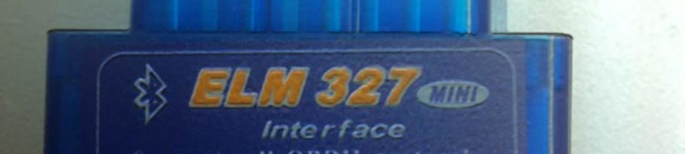 Адаптер для диагностики Рено Логан ELM327