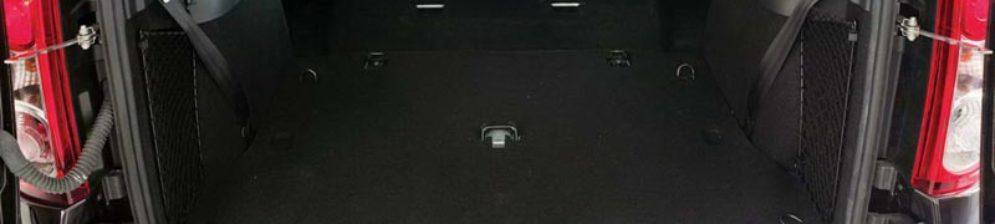 Багажное отделение Лада Ларгус в версии 5 мест
