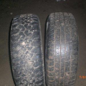 Cordiant Off Road 215/65 R16 и обычная не грязевая резина на Рено Дастер