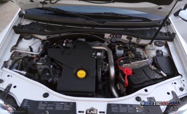 Дизельный двигатель мощностью 90 лошадиных сил Рено Дастер