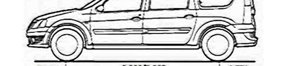 Длина кузова Лада Ларгус в мм