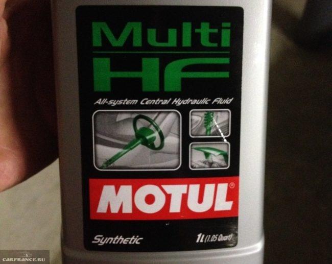 Этикетка Motul Multi HF