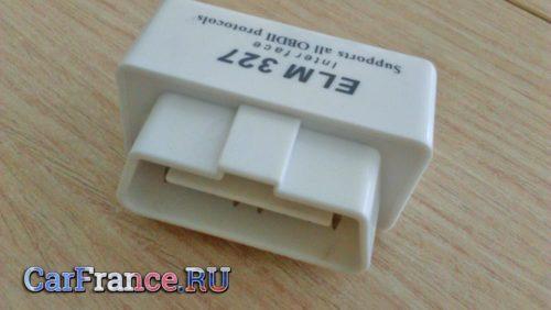 ELM327 c АлиЭкспресса надпись