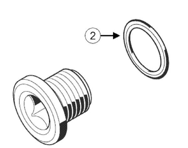 Сливная пробка и уплотнительное кольцо МКПП Рено Дастер 4*4