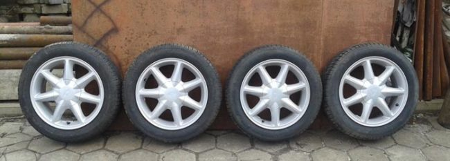 Стандартные размер колёс на Лада Калина