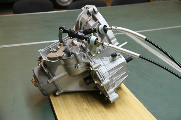 Коробка передач Лада Гранта с тросовым приводом