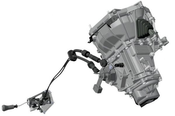 КПП ВАЗ-2181 с тросовым приводом схема работы