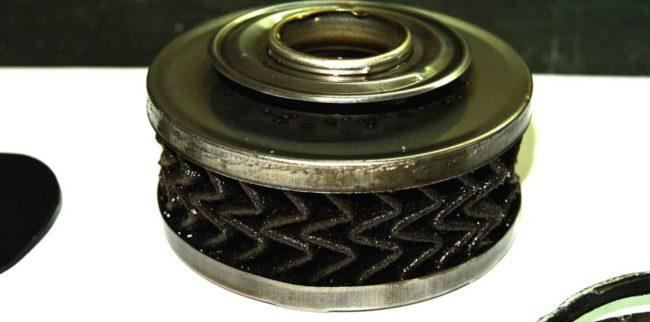 Масляный фильтр в разрезе от Рено Дастер