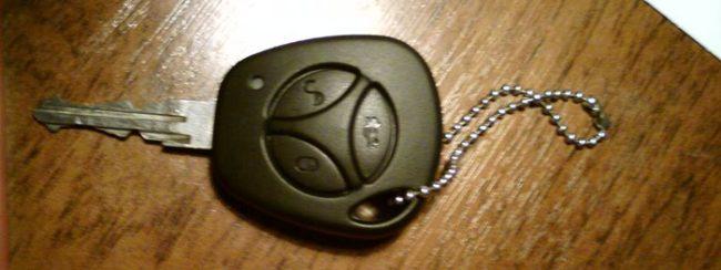 Ключ с ПДУ Лада Калина