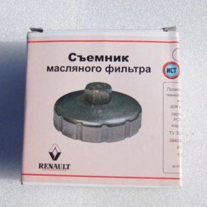 Упаковка съёмника масляного фильтра Рено Дастер