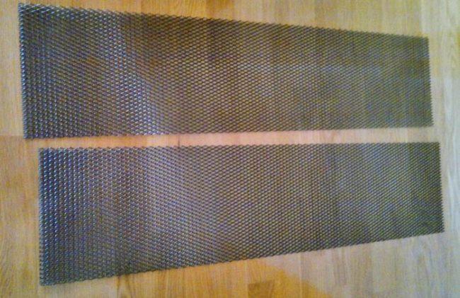 Изготовление защитной сетки на Рено Дастер своими руками