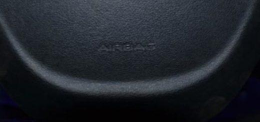 Подушка безопасности водителя в рулевом колесе Лада Гранта вблизи