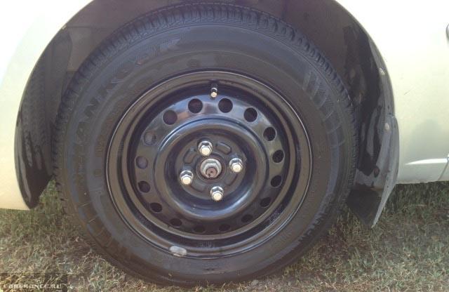 Колёсный диск на Киа Рио R14