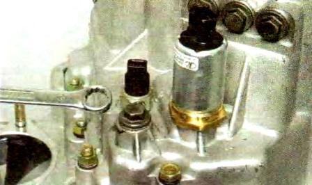 Пробка фиксатора вилки включения передачи заднего хода КПП Лада Гранта