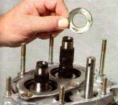 Демонтируем кольцо КПП
