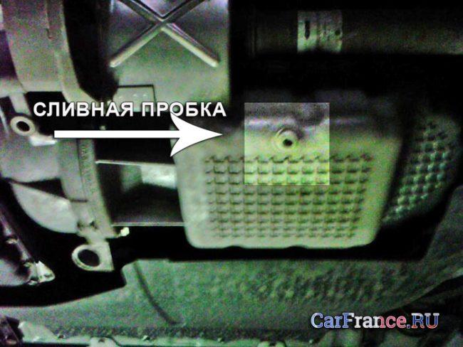 Сливная пробка двигателя Лада Калина