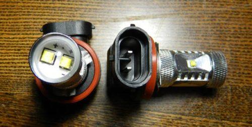 Светодиодные ПТФ фишка и цоколь