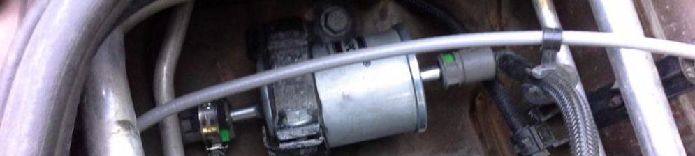 Дополнительный топливный фильтр на Рено Дастер