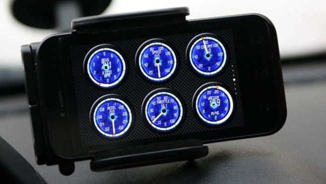 Torque включена и работает через адаптер ELM327