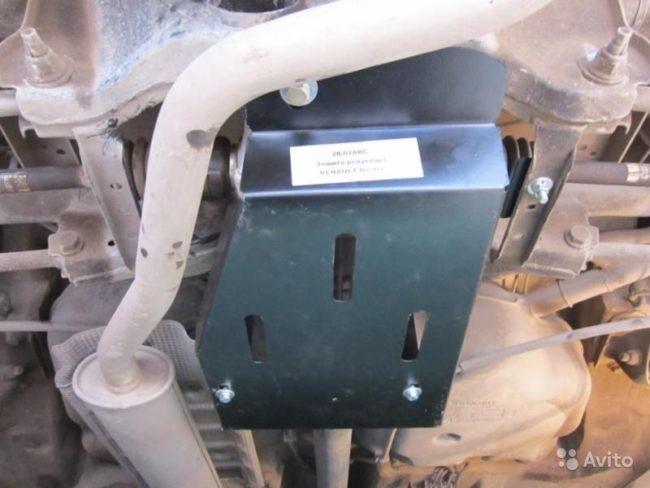 Защита электромуфты на Рено Дастер