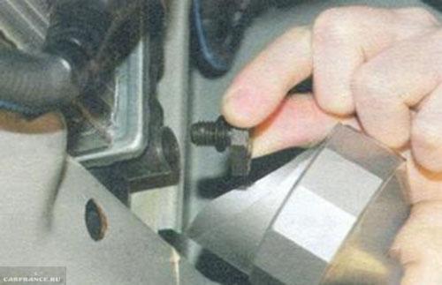 Сливная пробка радиатора ОЖ Калина