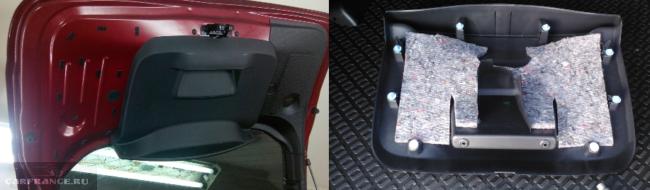 Накладка двери багажника Дастер