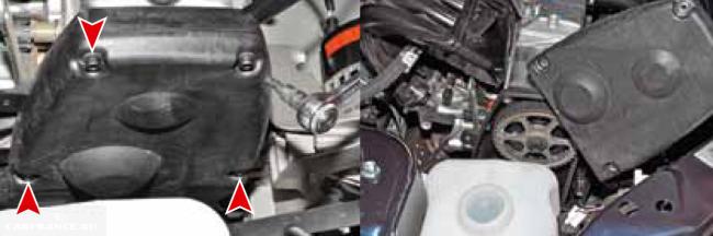 Крышка привода ГРМ ВАЗ 21116