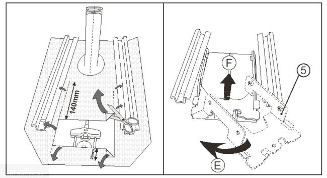 Подготовка к монтажу подлокотника Дастер