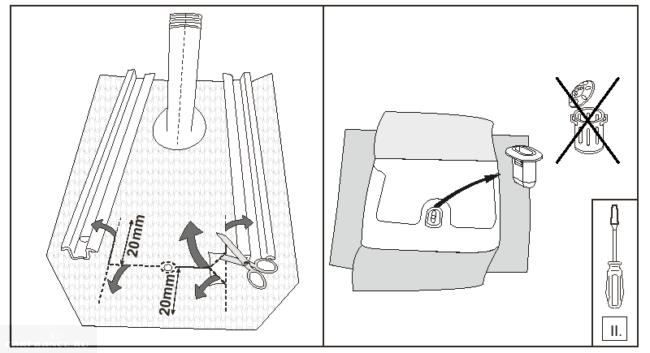Подготовка к монтажу подлокотника Дастер, фаза 2